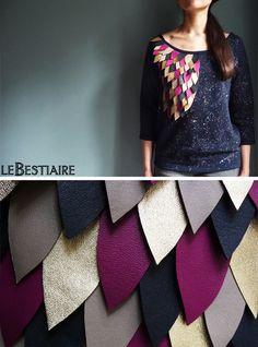 Biche Liste : un sweat-shirt LeBestiaire – lesfashionbiches.com