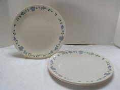 "Corelle Baskets & Berries 4 Dinner Plates 10"" Beige Blue (715-4) #Corelle Vintage Kitchenware, Teller, Dinner Plates, Dinnerware, Baskets, Berries, Beige, Tableware, Ebay"