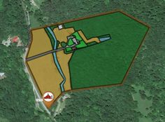 This week's map highlight comes from Summers, WV (http://app.yardmap.org/map/L5054804). It's a good example of the various natural land use types that may be present on farms. About 30% of the property is grassland that may be used by nesting birds. Management of the resources on these areas can either benefit or discourage wildlife. When possible, have a plan for management that incorporates seasonal timing for local animal life cycles…