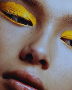 "2,973 Likes, 19 Comments - Schön! Magazine (@schonmagazine) on Instagram: ""Supracolor Yellow @kryolanofficial schonmagazine.com/colourblocking/ Photography /…"""