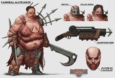 ArtStation - Cannibal Matriarch , Dave Allsop