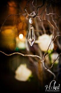 Hanging crystals...