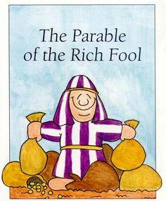 Mis recursos para el aula: The Parable of the Rich Fool