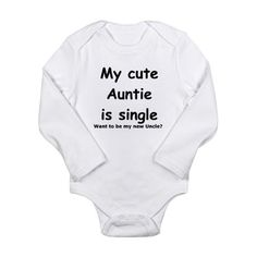 When Matt and I have children we are so having this for him/her to wear if Carlee is not married by then...