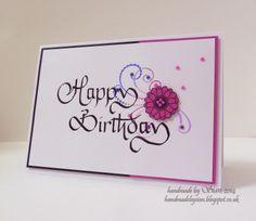 Happy Birthday Tasha!  Hope you have a good one!