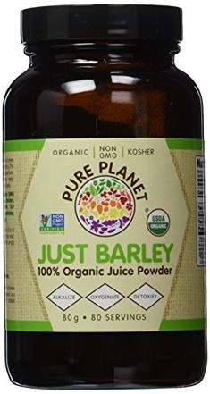 PURE PLANET JUST BARLEYOG2POWDER 80 SERV ** Check out the image by visiting the link.