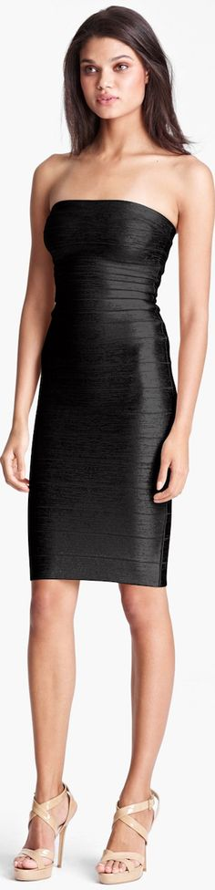 611cfeab16c5 Herve Leger ○ Metallic Bandage Dress - just got this for my birthday! Lucky  me