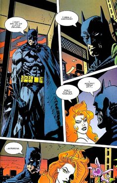 Batman by Jordi Bernet Héros Dc Comics, Comics Girls, Jordi Bernet, Batman And Batgirl, Classic Comics, Comic Page, Poison Ivy, Catwoman, Gotham