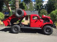 440/727 & Cold A/C: 1949 Dodge Power Wagon Restomod