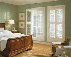 What Do You Think Of Plantation Shutters In A Bedroom?