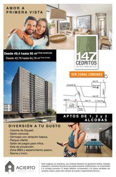 #NOVOCLICK esta con #Acierto #Apartamentos en cedritos