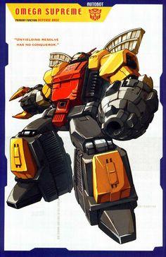 Transformers Universe - Gallery: G1 Omega Supreme