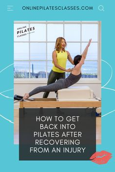In Pilates, as you work your entire body to work together, it's easy to avoid the injury, strengthen the rest of the body, and the weaker muscles will become strong. In time the aches, pains, injuries either go away or become incredibly manageable. #pilates #pilatesinjury #injuryrecovery #recoverpilates #pilatesexercises Toning Workouts, Fit Board Workouts, Fitness Exercises, Pilates Workout, Fun Workouts, At Home Workouts, Pilates Body, Pilates Reformer, Lifestyle Group