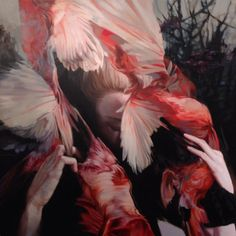 Paintings by Meghan Howland | http://inagblog.com/2015/12/meghan-howland-update-4/ | #art #paintings