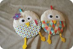 Bouillottes sèches Sewing Projects, Projects To Try, Diy Toys, Diy Hacks, Softies, Creations, Homemade, Gifts, Chiffon