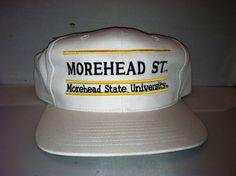 Vtg Moorehead State University Snapback hat cap rare 90s NCAA College THE GAME #TheGame #BaseballCap