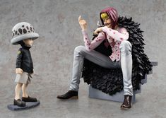 One Piece Excellent Model Limited P.O.P PVC Statue Corazon & Law Limited Edition 17 cm