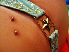 Hip piercings are so cool!