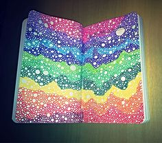 """Wreck This Journal - """"Fill This Page With Circles"""""""