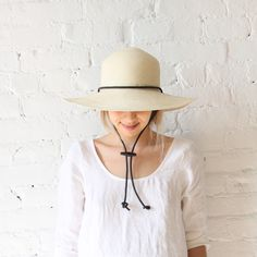 Brookes Boswell Pearmain Hat Natural