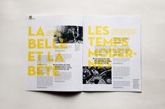 Léa Taillefert Design graphique CNC - MOTEUR, Le journal des enfants de lumière(s)