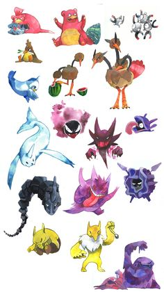 misc pokemon 2 by evelmiina.deviantart.com on @deviantART