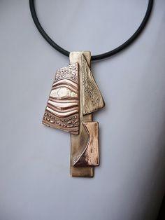 Unique pendant by Laurence Balbek.