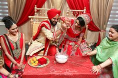 Calgary East Indian Wedding Photography Sikh Marriage Ceremony Punjabi Wedding Pictures Alberta Canada