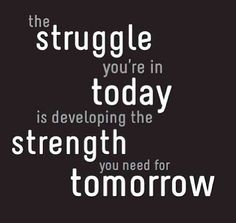 Jasmine, I feel this quote was written for you. Keep your head up and remember that you are strong