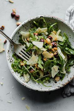 Arugula Salad Recipes, Fennel Recipes, Fennel Salad, Healthy Salad Recipes, Salad Works, Spring Salad, Thing 1, Salad Ingredients, Easy Salads