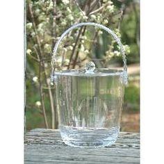 Monogrammed Acrylic Ice Bucket 2.5 qt