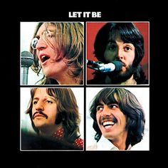 I have this in my VINYL collection. Let it Be by The Beatles-Album Cover