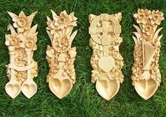 celtic spoon | ... Mother Earth Projects: history of Celtic Love Spoons and how to make