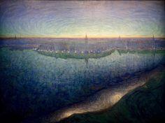 Eugene Jansson - L'aube sur le Riddarfjärden (1899)
