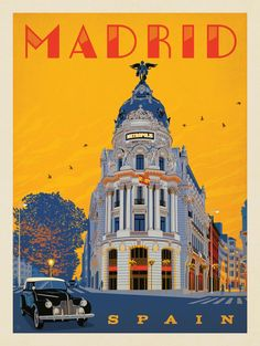Anderson Design Group – World Travel – Spain: Madrid Metropolis
