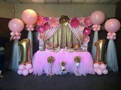 Fresh ideas for your Princess Birthday Decorations Minnie Birthday, Baby Girl Birthday, Unicorn Birthday Parties, Princess Birthday, Princess Party, Birthday Party Decorations, Birthday Ideas, Pink Princess, Baby Shower Parties