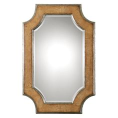 Have to have it. Uttermost Besslen Wall Mirror - 37.5W x 55H in. - $371.8 @hayneedle.com