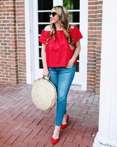 Happy Fourth of July  wishing you all a safe and happy holiday- off to watch some fireworks on the trinity! #liketkit #ltkholiday #redwhiteandblue #americathegreat #red Download the LIKEtoKNOW.it app to shop this pic via screenshot @liketoknow.it http://liketk.it/2rUT6