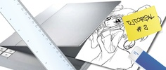 How to draw manga - with Photoshop. A guide, divided in chapters, to draw manga for beginners