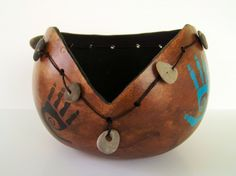 Gourd bowl by Conscious Art Studio on Artfire.