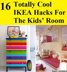 16 Totally Cool IKEA Hacks For The Kids' Room