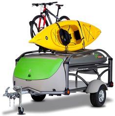 GO Easy Trailer Hauling Bikes and Boats