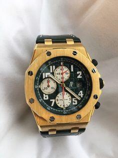 Audemars Piguet Royal Oak Offshore Monte Napoleone 18K Yellow Gold Ltd. Edition