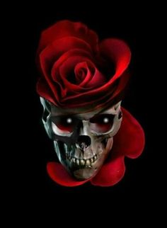 None of these images are mine =) Skull Rose Tattoos, Rose Flower Tattoos, Sugar Skull Painting, Sugar Skull Art, Gothic Wallpaper, Skull Wallpaper, Pattern Wallpaper, Wallpaper Caveira, Vampire Pictures