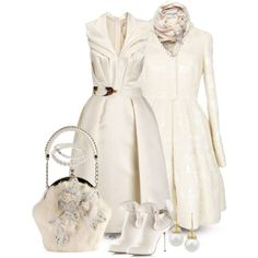 A fashion look from November 2012 featuring Giles dresses, Alexander McQueen coats y Sergio Rossi ankle booties. Browse and shop related looks.