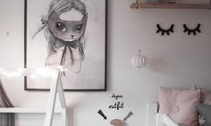 The Sweetest Girl's Nordic Room from Instagram