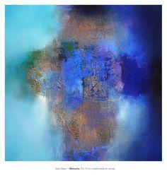Eelco Maan I Memento, mixed media on canvas, 70 x 70 cm cm. Sold.