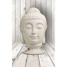 """Boeddha lamp groot. Boeddha lamp elektrisch groot. Een prachtige thaise Boeddha hoofd lamp die bijzonder geschilt is om samen met waxmelts te gebruiken. Door het afneembare """"hoofddeksel"""" is er ruimte om een waxmelt te smelten zodat de lamp niet alleen prachtig licht maar ook een heerlijke geur afgeeft.   Afmeting: 24 cm Hoog Materiaal: Porselein Verpakking: Geschenkverpakking Sculpture, Statue, Art, Seeds, Art Background, Kunst, Gcse Art, Sculpting, Sculptures"""