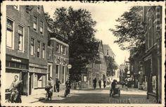 Netherlands-1954-Alkmaar-Koorstraat-Postcard-15c-stamp