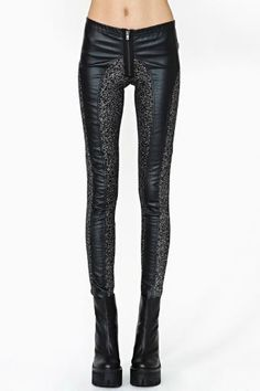 Note: New trend up&coming! It's like a black version of the horse riding pants in a way. I'm liking it. -Tripp NYC Star Gazer Leggings